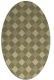 rug #639664   oval check rug