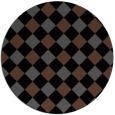 rug #640052   round check rug