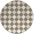 rug #640184   round check rug