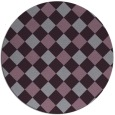 rug #640280   round check rug
