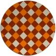rug #640358 | round geometry rug