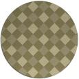 rug #640368   round check rug