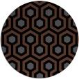 rug #643569   round black rug