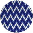 rug #648945 | round blue-violet rug