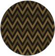 rug #648957 | round black rug