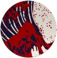 rug #650841   round red rug