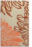 rug #657485 |  orange rug