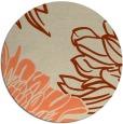 rug #657837   round beige rug
