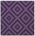 rug #661961 | square blue-violet rug