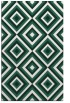 rug #662701 |  blue-green rug