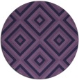 rug #663017   round purple rug