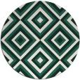 rug #663053   round blue-green rug