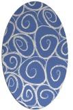 rug #667537 | oval circles rug