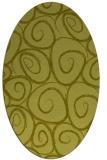 rug #667559 | oval circles rug