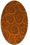 rug #667755   oval circles rug