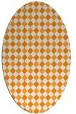 rug #671362 | oval check rug