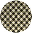 rug #672030   round check rug