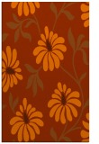 rug #675145 |  red-orange rug