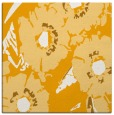 rug #676281 | square light-orange rug