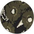 rug #677309 | round black rug