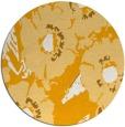 rug #677337   round light-orange rug