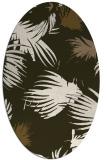 rug #681756 | oval natural rug
