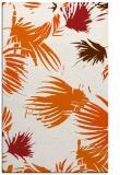 rug #682197 |  red-orange rug