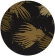 rug #682397 | round black rug