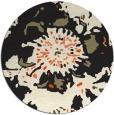 rug #689629   round black rug