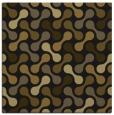 rug #691901   square mid-brown rug
