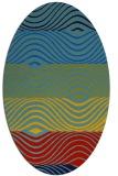 rug #695827   oval stripes rug