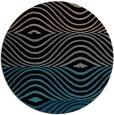 rug #696377 | round black rug
