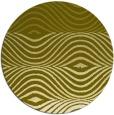 rug #696681 | round light-green rug