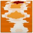 rug #697257 | square orange rug