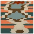 rug #697261 | square orange rug