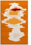rug #697961 |  orange rug