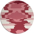rug #698336 | round abstract rug