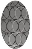 rug #706419 | oval circles rug