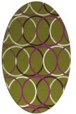 rug #706448   oval circles rug