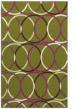 rug #706800 |  circles rug