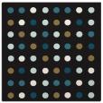 rug #709405   square mid-brown rug