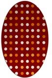 rug #709931 | oval circles rug