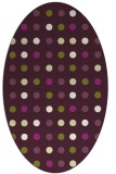 rug #709965 | oval flags rug