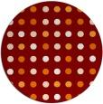 rug #710635 | round geometry rug