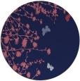 rug #714053 | round blue-violet rug
