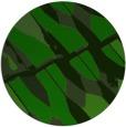 rug #726349 | round green rug