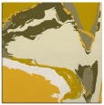 rug #729033   square yellow rug