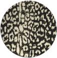 rug #731869 | round black rug
