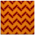 rug #739493 | square red-orange rug