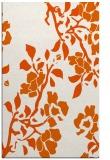 rug #742037 |  red-orange rug